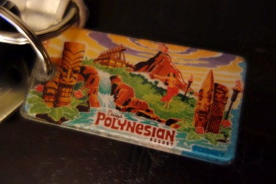 Disney Collections, Polynesian Resort Collection, keychain-kf