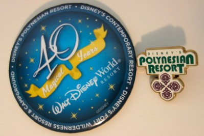 Disney Collections, Polynesian Resort Collection, pins-kf