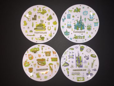 Disney Magic Kingdom plates Vanessa Prince