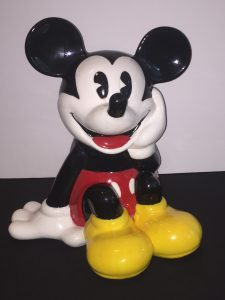 Disney Mickey cookie jar Vanessa Prince