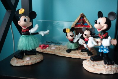 Disney collections, Polynesian Resort Collection, Mickey Minnie Bobbles - kf