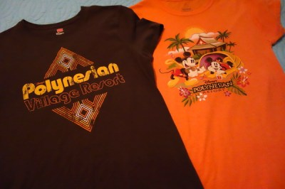 Disney collections, Polynesian Resort Collection, T-shirts-kf