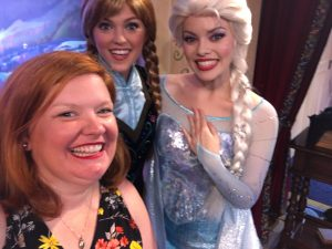 Meet and Greet with Anna and Elsa Frozen Kristin Fuhrmann-Simmons WDW Radio