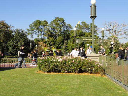 Plaza Rose Garden Magic Kingdom