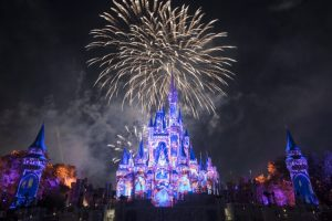 Happily Ever After fireworks - disney