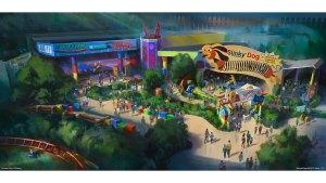 Toy Story Land Concept Art - disney