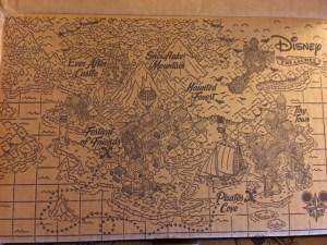 Interior of Disney Treasures by Funko subscription box