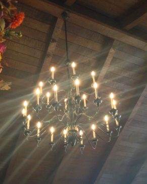 Liberty Tree Tavern Light Fixture - kf