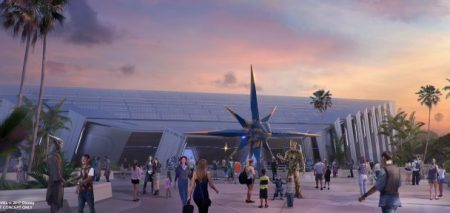 Epcot Changes - Guardians of the Galaxy attraction concept art