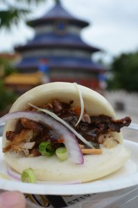 Bao Buns Shrimp Tacos Epcot International Food and Wine Festival Kristin Fuhrmann Simmons WDW Radio