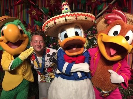 Three Caballeros Disney Character Meet and Greet