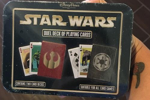 Star Wars cards inside Countdown to Fun Box 3