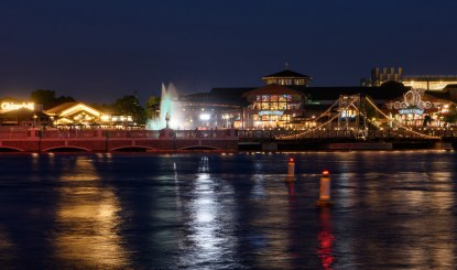 Disney Springs at night - ©disney
