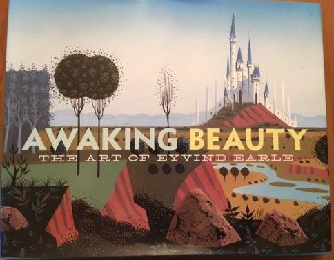 """Awaking Beauty The Art of Eyvind Earle"" cover art"