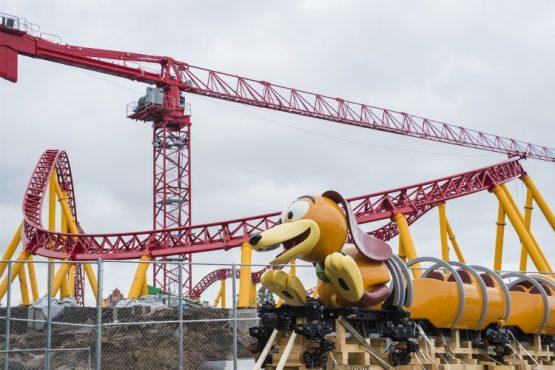 Slinky Dog Dash Ride Vehicle Arrives - copyright Disney