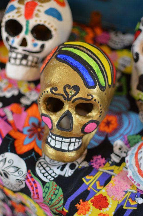 Dia de los Muertos calaveras craft