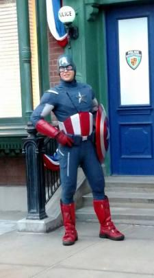Captain America Meet and Greet - property of KSWicks