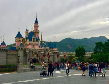 Honk Kong Disneyland Castle