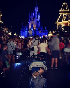 Walt Disney World in a stroller
