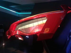 Iron Man Experience Ride Vehicle