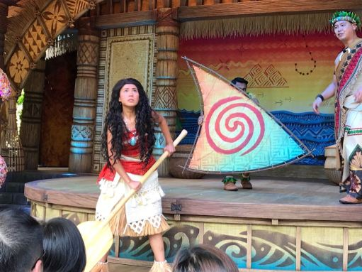 Moana: A Homecoming Celebration show