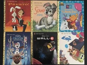 Little Disney Golden Books - disney books