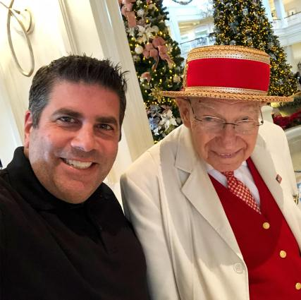 Lou Mongello and Richard Gerth, Grand Floridian Greeter