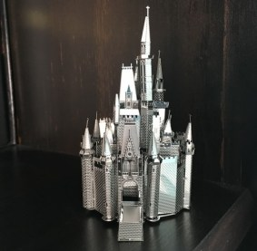 Cinderella Castle Metal Earth model