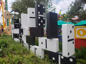 Toy Story Land Dominoes