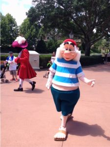 Smee character in Epcot
