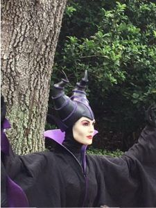 Maleficent in Epcot
