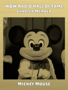 WDW Hall of Fame Member Mickey Mouse