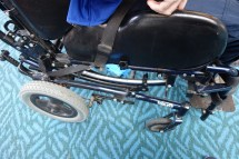Flying with a wheelchair
