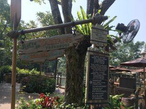 Raft to Tarzan's Treehouse, Hong Kong Disneyland