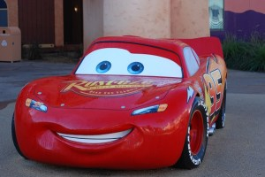 Lightning McQueen at Disney's Art of Animation Resort