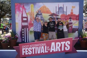 Festival of the Arts photo op