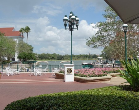 View from Gasparilla Island Grill outdoor seating