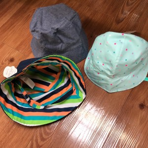Wide-brimmed sun hat - 5 Things to Pack when visiting Walt Disney World with a Small Child