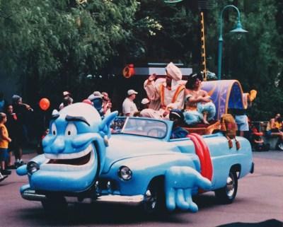 Disney Stars and Motor Cars Parade Aladdin Car