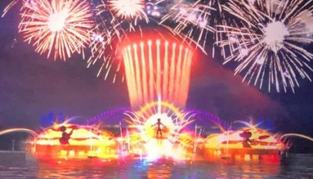New Epcot nighttime show concept art - copyright Disney