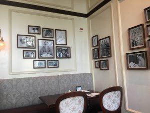 """alt=""""Wall photos at Walt's Cafe at the Hong Kong Disneyland Resort."""""""