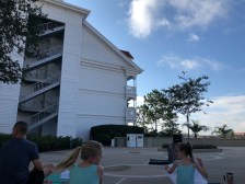 """alt=""""The Rise and Shine yoga class at the Grand Floridian Resort."""""""