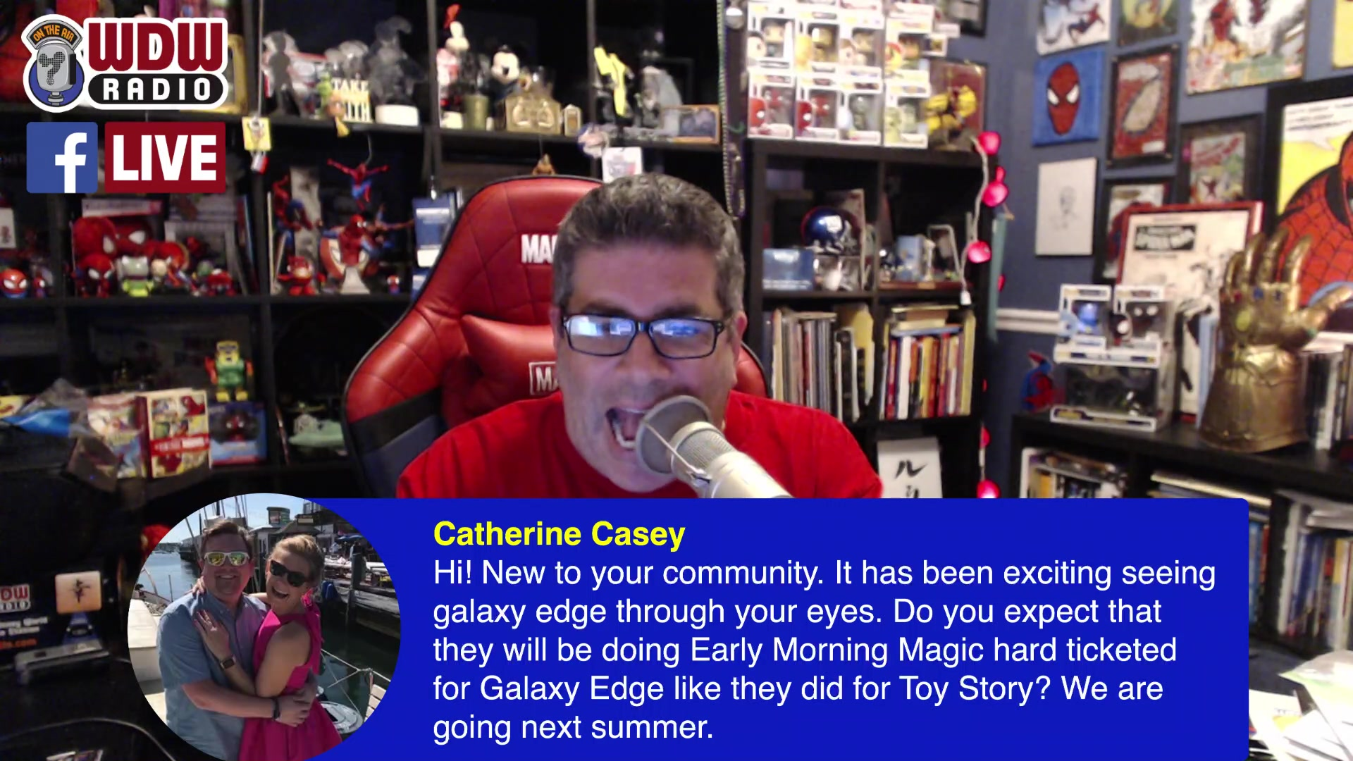 WDW Radio LIVE Q&A about D23 Expo, Galaxy's Edge, Disney, Marvel, Star Wars and more!