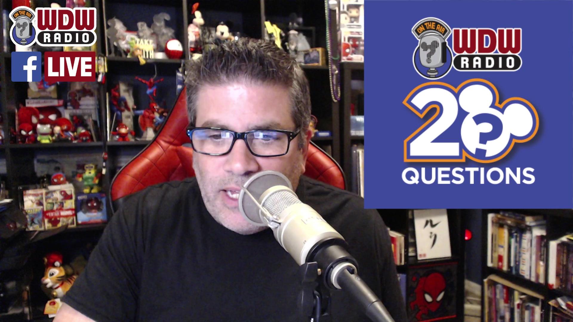 WDW Radio LIVE – Call in Q&A and WIN Baby Yoda socks!