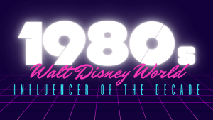 Image to introduce the Walt Disney World Influencer of the Decade for the 1980s - Disney's Caribbean Beach Resort