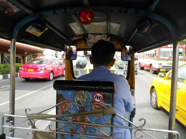 thailande bangkok tuk tuk