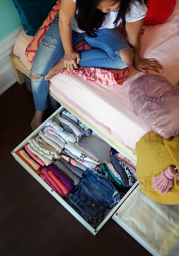Tiny Bedroom Makeover From Little Girl S Room To Teen