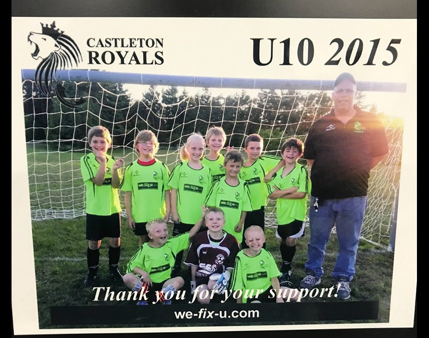 Support for the Castleton Royals U10 Soccer Team to be the Next Barcelona!