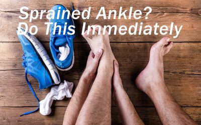 I Sprained My Ankle, What Should I Do? Immediate Things to Do.
