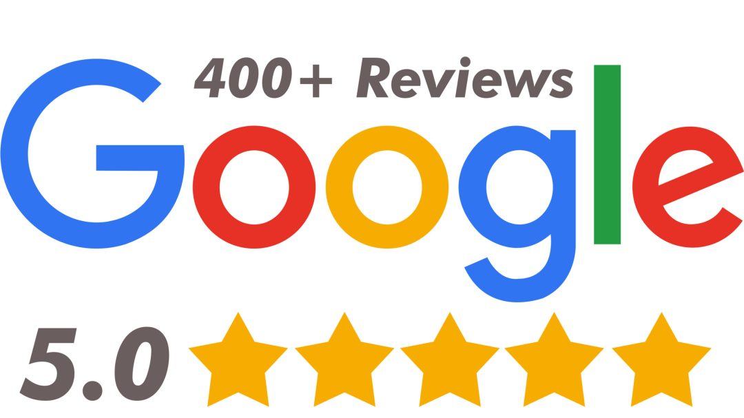 google review banner with 400 reviews wefixu physiotherapy clinic
